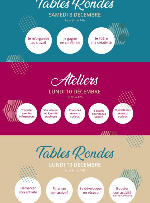 Edition 2018 – Programme des tables rondes et ateliers