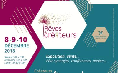 Devenez exposant pour le salon Rêves des Créateurs édition 2018